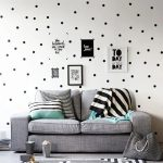 US $0.57 41% OFF Black Polka Dots Wall Stickers Circles DIY Stickers for Kids Room Baby Nursery Room Decoration Peel Stick Wall Decals Vinyl Wall Stickers 