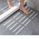 US $2.29 34% OFF 10/18 Pcs Anti Slip Bath Grip Stickers Non Slip Flooring Safety Bath Tub Shower Strips Tape Mat Applique Bathroom Accessories Bath Mats 