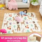 US $39.1 54% OFF Infant Shining Baby Play Mat Xpe Puzzle Children's Mat Thickened Tapete Infantil Baby Room Crawling Pad Folding Mat Baby Carpet baby carpet children matbaby play mat