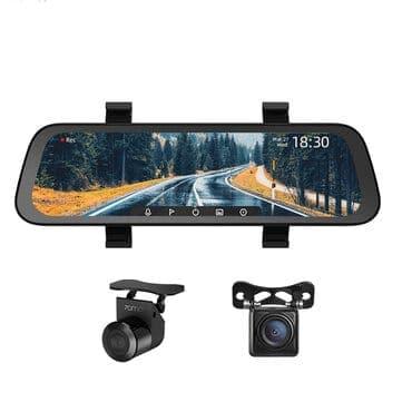 מצלמת רכב משולבת מראה מבית שיאומי 70MAI – הדגם החדש והמשופר עם מסך ענק ומלא ותמיכה ב2 מצלמות ב$53.83! (+4.98$ משלוח)