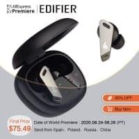 לחטוף!  EDIFIER TWSNB2 TWS ANC – אוזניות משובחות עם סינון רעשים אקטיבי רק ב$68.99!!!