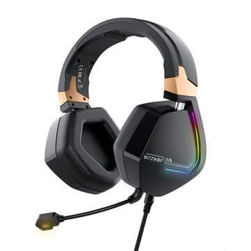BlitzWolf® BW-GH2 – אוזניות גיימינג חדשות עם 7.1 ערוצים, USB,RGB, רק ב$29.99 (הזמנה מוקדמת)