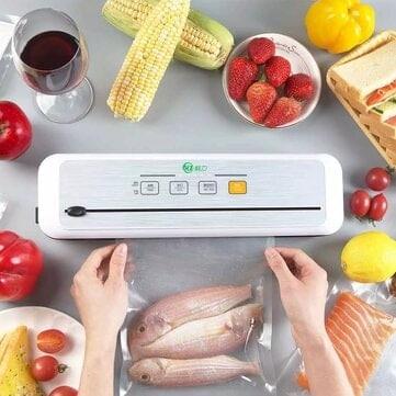 מכונת ואקום חדשה מבית שיאומי – XianLi Food Vacuum Sealer – רק ב$43.99!