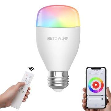 מחיר מדהים! BlitzWolf® BW-LT27 – המנורה החכמה החדשה של בליצוולף – כולל שלט! רק ב$14.99$