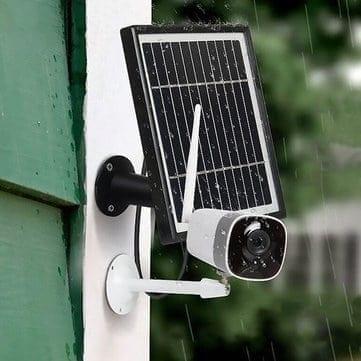 Xiaovv DC05F – מצלמת אבטחה אלחוטית (לחלוטין) עם טעינה סולארית רק ב$55.99!