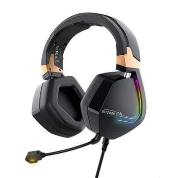 BlitzWolf® BW-GH2 – אוזניות גיימינג חדשות עם 7.1 ערוצים, USB,RGB, רק ב$27.99