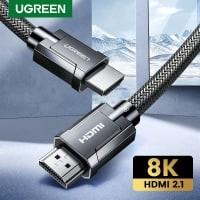 כבל הHDMI של העתיד! Ugreen HDMI 2.1 4K/120Hz 48Gbps רק ב7.99$!
