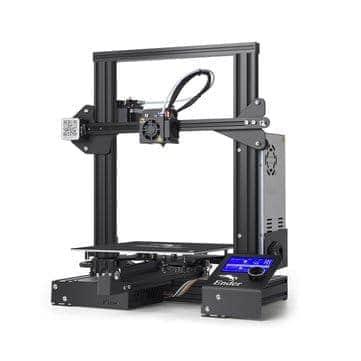 """ירידת מחיר! Creality 3D® Ender-3 – מדפסת התלת מימד הכי מבוקשת! רק 920 ש""""ח / 270.51$ עם משלוח וביטוח מס!"""