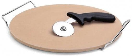 Roso Glaze סט להכנת פיצה 3 חלקים – כולל אבן שמוט וגלגלת רק ב₪69!
