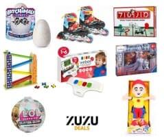 בדיוק בזמן! הנחות על מגוון ענק של צעצועים! מטוסי על, L.O.L, האצ'ימלס, מגנטים, משחקי הרכבה, חברה, חשיבה, מכוניות, פאזלים ועוד!