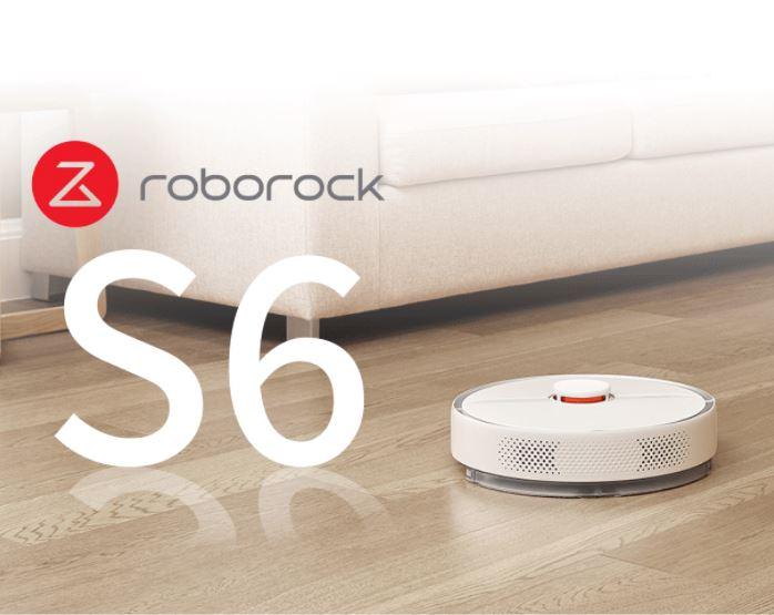 שואב אבק רובוטי ROBOROCK S6 רק ב₪1649!