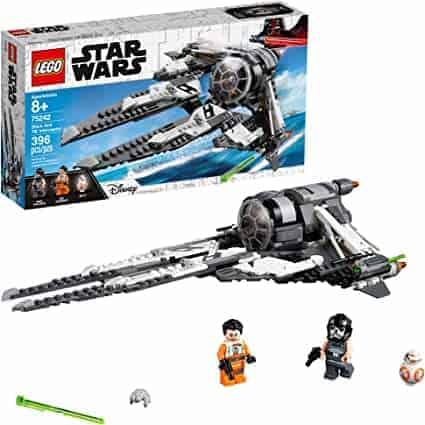 75242 LEGO   לגו מלחמת הכוכבים! החללית בלאק אייס (396 חלקים) רק ב₪194 כולל משלוח! במקום ₪389!