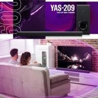 מקרן קול Yamaha ימאהה YAS-209 – מהמומלצים בעולם רק ב₪1,340 (בזאפ 2,020 – 1,849 ₪)