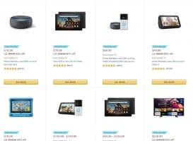 רמקולים חכמים Amazon Echo, קינדל, טאבלטים ועוד – כל מוצרי אמזון כבר במחירי מבצע לוהטים!