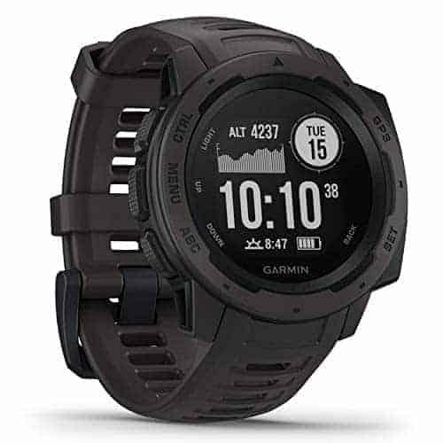 "Garmin Instinct – שעון ספורט חכם עם ביקורות מעולות! רק ב214.75$ / 728 ש""ח (1,050 – 1,019 ₪ בזאפ!)"