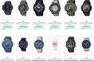 שעון לאבא, שעון לאמא, שעון לילדים, שעון למתגייס, שעון למטייל…שעוני CASIO לכולם! מבחר ענק של דגמים מבוקשים במחירים…שחבל על הזמן!