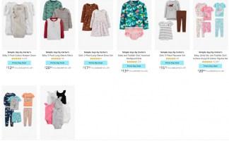 על הדרך! כבר קונים באמזון היום? תוסיפו בגדים לילדים של Carter's!