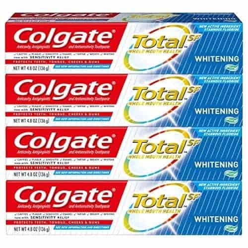 על הדרך! Colgate Total | מארזי 4 משחות שיניים קולגייט טוטאל הלבנה/ג'ל רק ב4.99$!