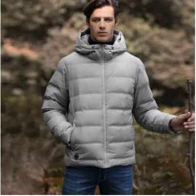 """בלעדי – והפעם מבית שיאומי! מעיל פוך יפיפה (שחור / אפור) עם חימום מובנה רק ב339 ש""""ח כולל משלוח וביטוח מס! כמות מוגבלת!"""