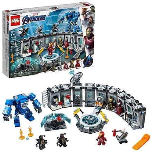 "LEGO 76125 | לגו ""הנוקמים"" היכל השריון של איירון-מן (524 חלקים) ב₪235 במקום ₪414!"