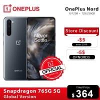 OnePlus Nord  8GB/128GB רק ב$382!