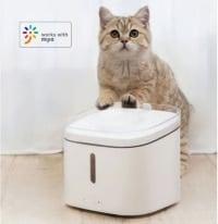"""מיכל מים אוטומטי חכם לכלב/חתול מבית שיאומי למים זורמים עם סינון + אפליקציה וWIFI – רק ב175 ש""""ח כולל משלוח!"""