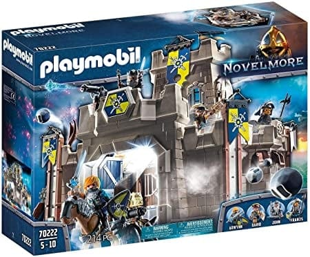 Playmobil 70222   פליימוביל נובלמור – מבצר האבירים (214 חלקים) רק ב₪376 עד הבית! במקום ₪484