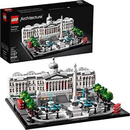 21045 LEGO   לגו ארכיטקטורה – כיכר טרפלגר (1197 חלקים) רק ב₪314 כולל משלוח! במקום ₪441