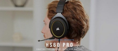 """לחטןף! Corsair HS60 Pro – אוזניות גיימינג 7.1 רק ב199 ש""""ח! (דיל מקומי!)"""