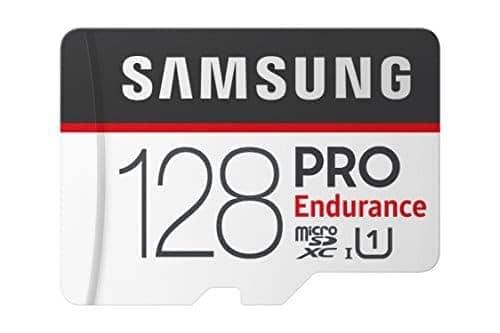 """הכרטיס העמיד הכי מומלץ בירידת מחיר! SAMSUNG ENDURANCE PRO! למצלמות רכב, אבטחה ועוד! רק 34.14$ / 115 ש""""ח ל128GB!"""
