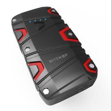 BlitzWolf® BW-JS1 – בוסטר חדש של בליצוולף – עמיד למים! עם טעינה מהירה QC3.0, פנס ועוד – רק 56.11$ כולל משלוח!