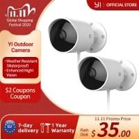 YI Outdoor – מצלמת האבטחה החיצונית המומלצת במחיר חיסול! רק 32.59$!