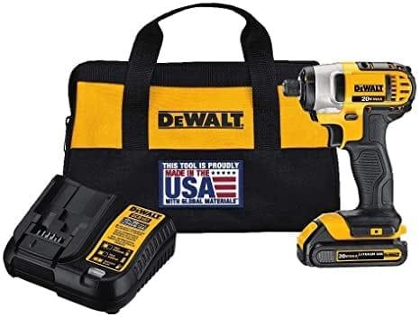 """מברגת אימפקט חזקה! DEWALT 20V MAX DCF885C1 רק ב494 ש""""ח!"""