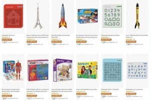 לילדים חכמים! 40% על מבחר צעצועי STEM מובילים!