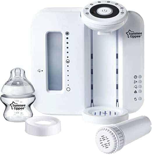 להכין בקבוק לתינוק בדיוק בטמפרטורה הנכונה בפחות מ2 דקות! Tommee Tippee Perfect Prep רק ב₪370 עד הבית!