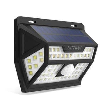 Blitzwolf® BW-OLT1 – תאורה סולארית אוטומטית –  רק ב$14.41! זוג רק ב$25.61 4 רק ב$48.01!