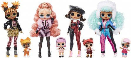 בובות חדשות מבית L.O.L. Surprise! סדרת O.M.G. Winter Chill בובת אופנה + בובת תינוקת ו25 הפתעות! רק ב₪154 עד הבית! זוג רק ב₪280
