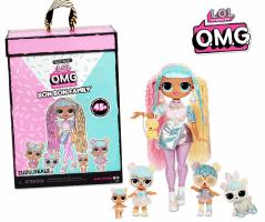L.O.L. Surprise! O.M.G. Candylicious מארז מיוחד! 5 בובות + 45 הפתעות רק ב₪241 עד הבית!