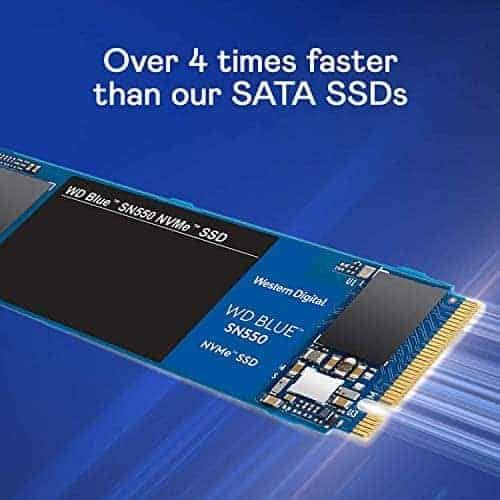 הכי זול אי פעם! כונן WD Blue SN550 500GB NVMe SSD רק ב67.37$ / 205 ₪