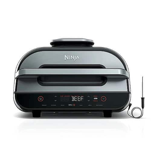 הגריל המהפכני – Ninja Foodi Grill Max רק ב₪1449 עם אחריות יבואן רשמי!