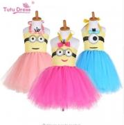 שמלת טוטו מיניונים Minions