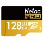 Netac Pro P500 128GB UHS-I U3 Micro SD Card  – ב52$!