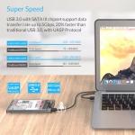 מארז כונן קשיח מומלץ עם USB 3.0 – שקוף! $4.91