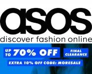 ASOS | אסוס 10% הנחה נוספים על כל הפריטים בSALE בשימוש בקופון!