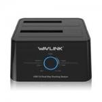 WAVLINK 5Gbps USB 3.0  – תחנת עגינה לדיסקים קשיחים – רק 29.99$!