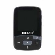 Ruizu X50 Sport Clip Bluetooth MP3 Music Player Support TF Card FM Radio Recording E-book Pedometer Sale –