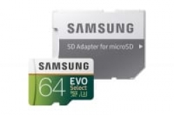 Samsung 64GB 100MB/s (U3) EVO Select – כרטיס הזיכרון הכי מומלץ, עם אחריות אמזון ב3$ הנחה, לא תיקח? 29.97$