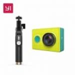 מצלמת האקסטרים הכי פופלארית – XIAOMI YI עם מקל סלפי ושלט בלוטות' מקוריים של שיאומי – רק ב50$!