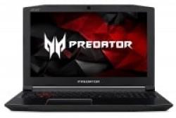 Acer Predator Helios 300 Gaming Laptop, Intel Core i7-7700HQ CPU, 16GB DDR4 RAM, 256GB SSD, GeForce GTX 1060-6GB, VR Ready, ,