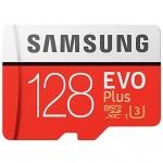 Samsung EVO PLUS U3 – 128GB– כרטיסי הזיכרון המוצלחים והמהירים בפערי ענק מול הארץ + קורא כרטיסים מתנה!